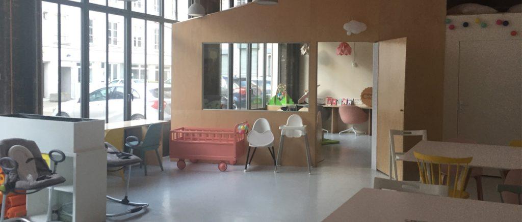 À Paris, j'ai visité l'Espace coworking CoworkCrèeche, destiné aux nouveaux parents